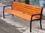 Уличные скамейки с подлокотниками СТ30л-1.5g