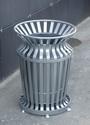 Оцинкованные урны для мусора уличные парковые  УМц-1