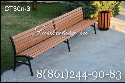 скамейки из лиственницы парковые