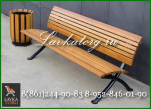 Урны парковые и скамейки