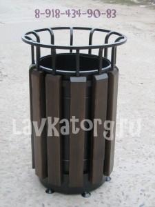 урна для мусора УМл-2к палисандр 8-918-434-90-83