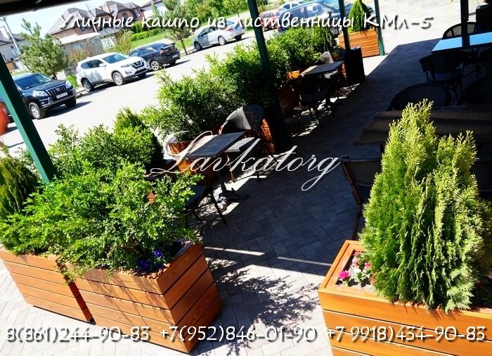 Кашпо для летних кафе и ресторанов