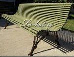 Металлические скамейки парковые